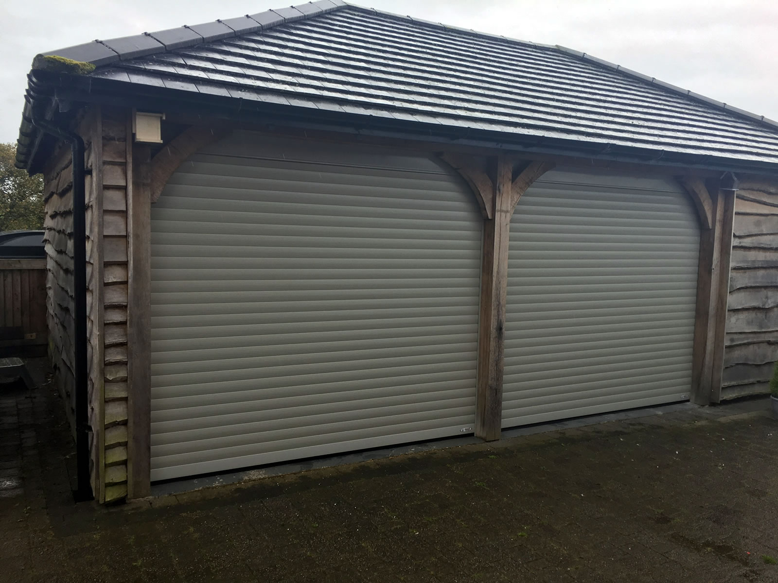 Roller Garage Doors Bespoke Electric Roller Doors Rolux Uk