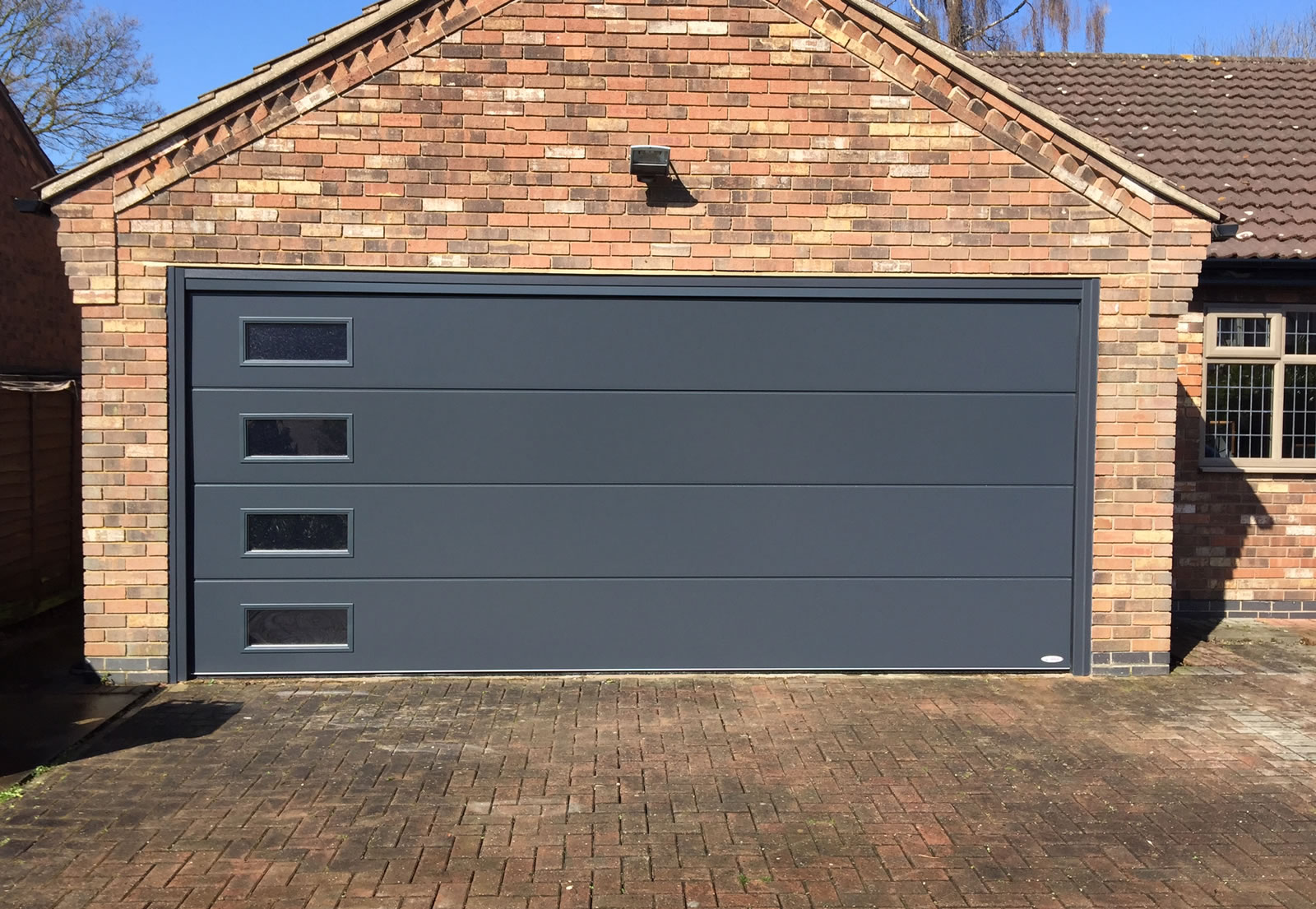 Sectional Garage Doors With Windows Uk Best Garage