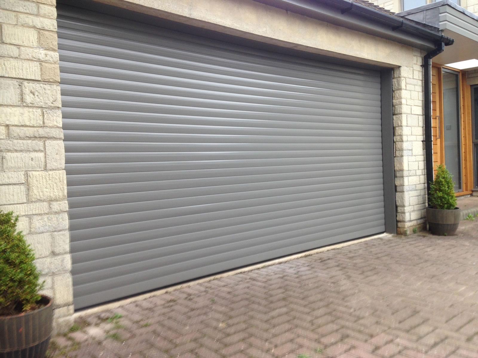 The Garage Door >> Roller Garage Doors Bespoke Electric Roller Doors Rolux Uk