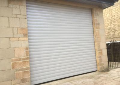 Light Grey Roller Door