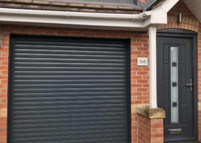 Anthracite Roller Door with matching front door - 2
