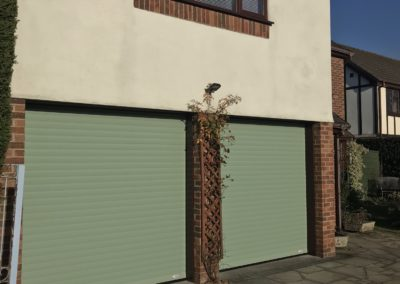 Chartwell Green Roller Doors