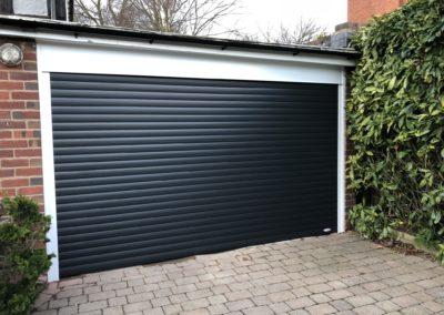 Graphite roller door