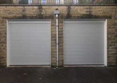 Light Grey Roller Doors