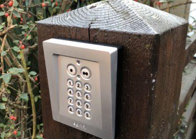 Somfy keypad