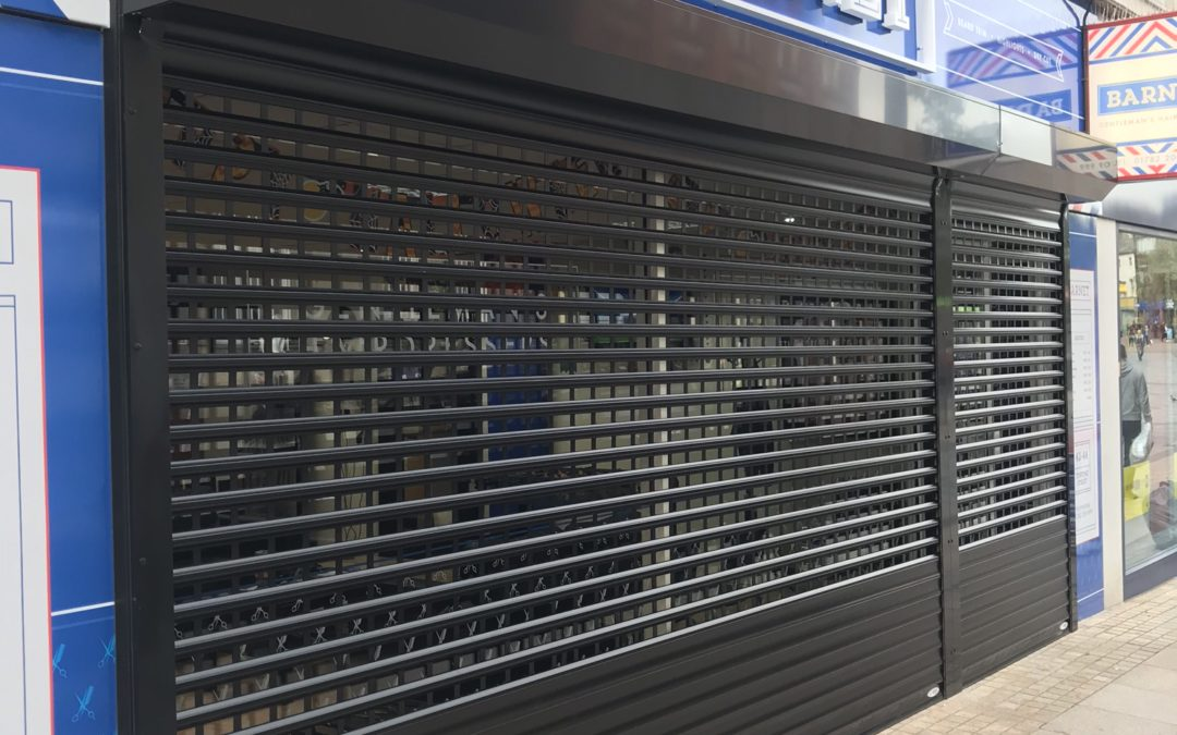 Shop front shutters – Security roller shutters