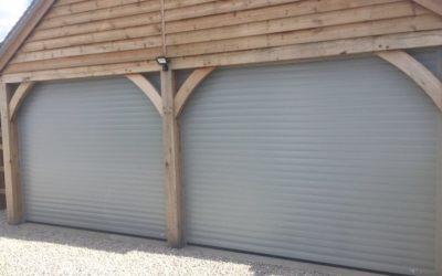 Carport roller doors