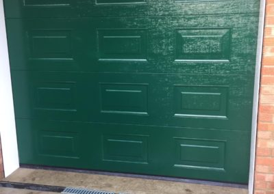 Green Sectional door