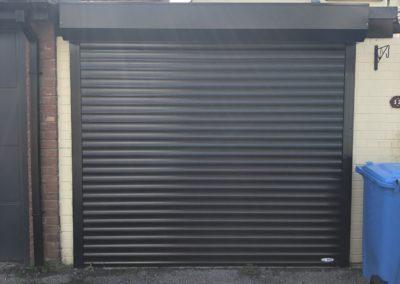 External insulated roller door
