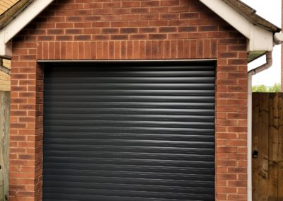 Anthracite Roller Garage Door